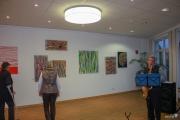Ausstellungseröffung im Cafe Jedermann, Linnich